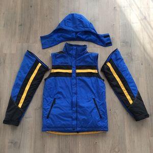 Columbia Sportswear Fleece Zip Jacket Vest Snow